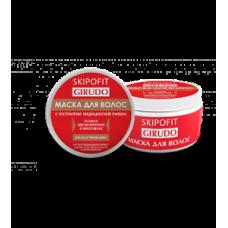 Маска для волос с экстрактом медицинской пиявки